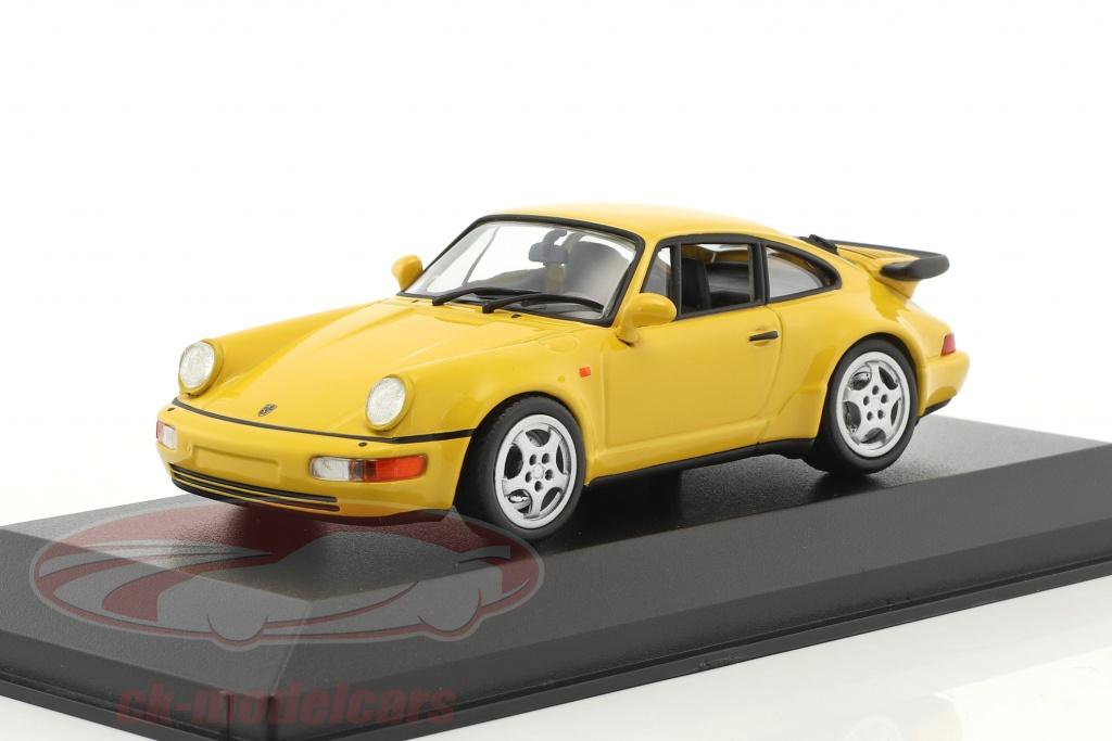 minichamps-1-43-porsche-911-964-turbo-anno-di-costruzione-1990-giallo-940069104/