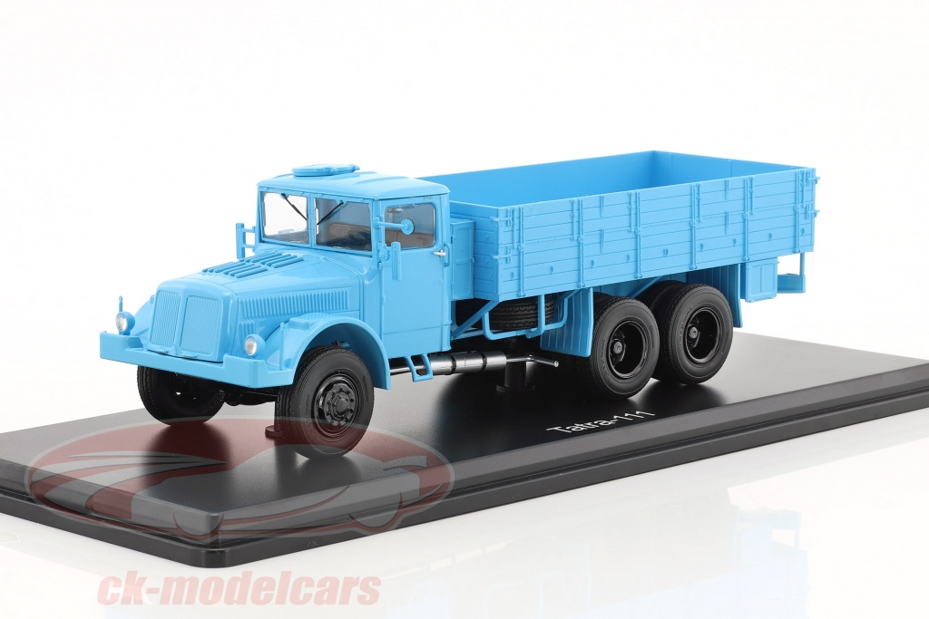 premium-classixxs-1-43-tatra-111-platform-truck-with-plans-light-blue-pcl47028/