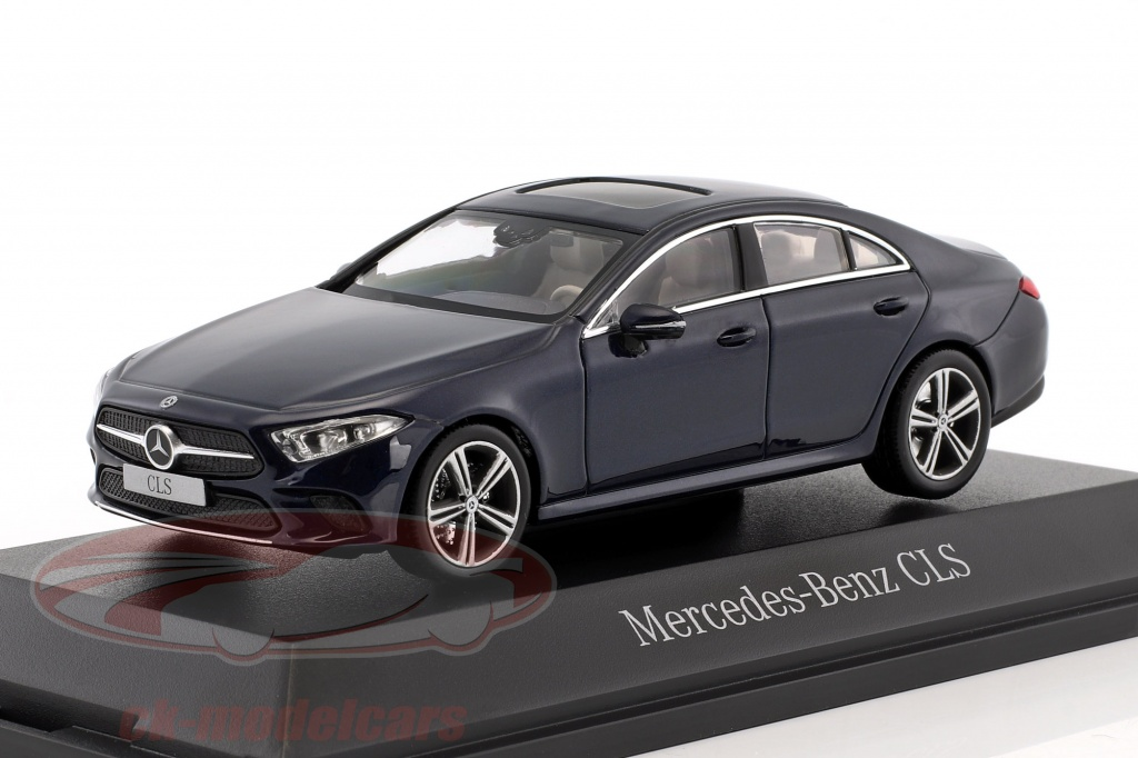 norev-1-43-mercedes-benz-cls-coupe-c257-year-2018-cavansite-blue-metallic-b66960543/