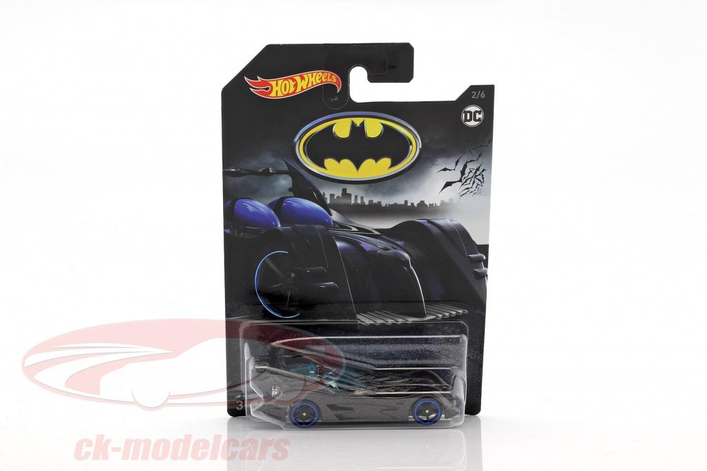 hotwheels-1-64-batmobile-dc-comics-grau-metallic-mit-blauen-raedern-fkf38/