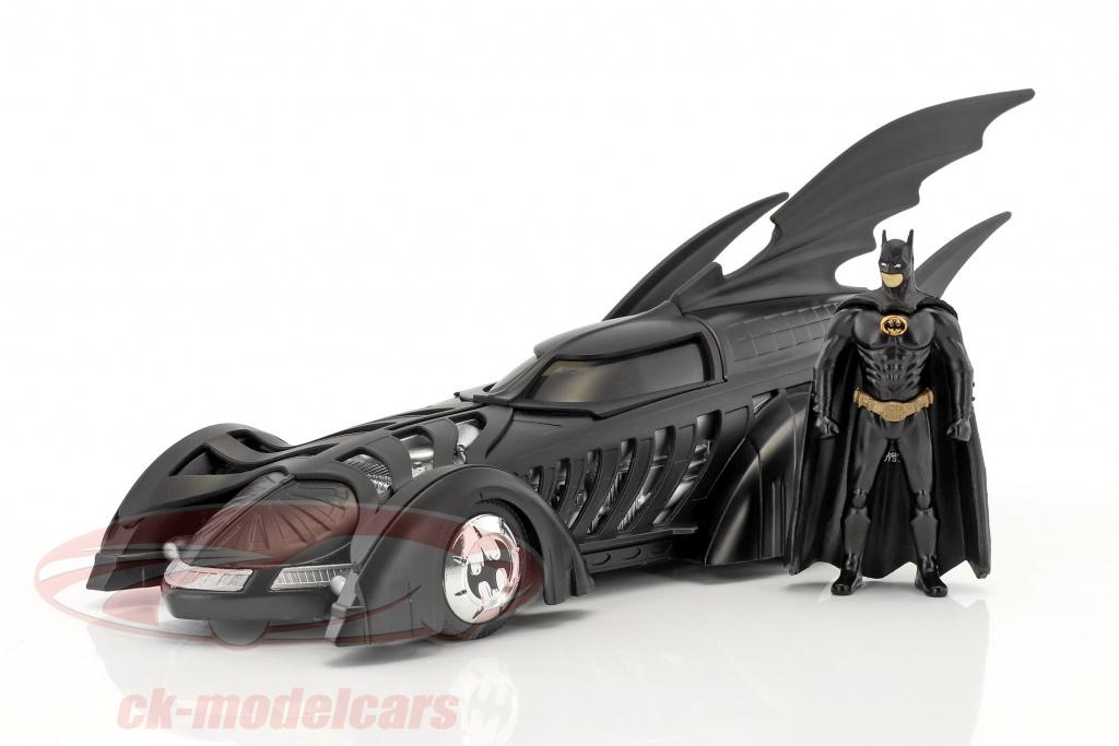 jadatoys-1-24-batmobile-movie-batman-forever-1995-black-with-figure-batman-98036/