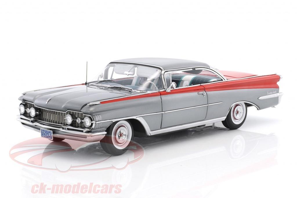 sun-star-models-1-18-oldsmobile-98-hard-top-ano-de-construcao-1959-prata-vermelho-5243/