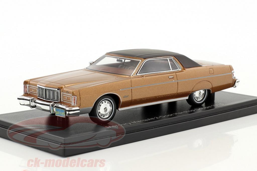 neo-1-43-mercury-marquis-2-tuerer-hardtop-coupe-year-1976-brown-metallic-neo46950/