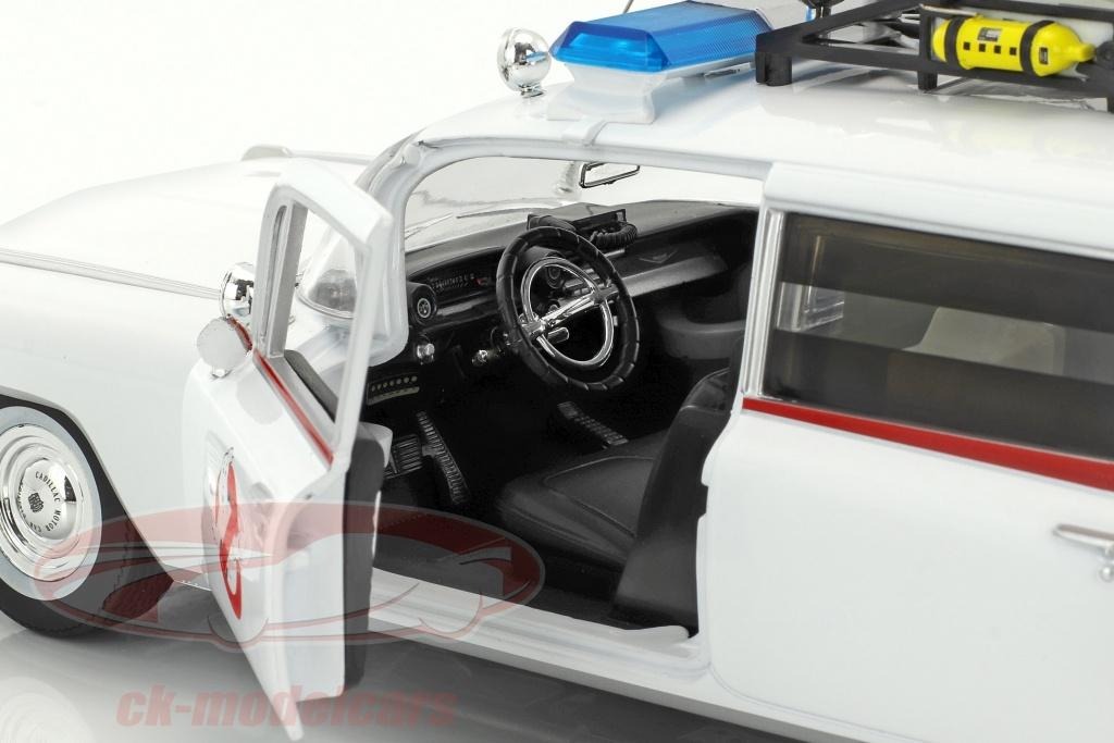 Ertl 1 18 Cadillac Ambulance Ecto 1 Year 1959 Movie Ghostbusters