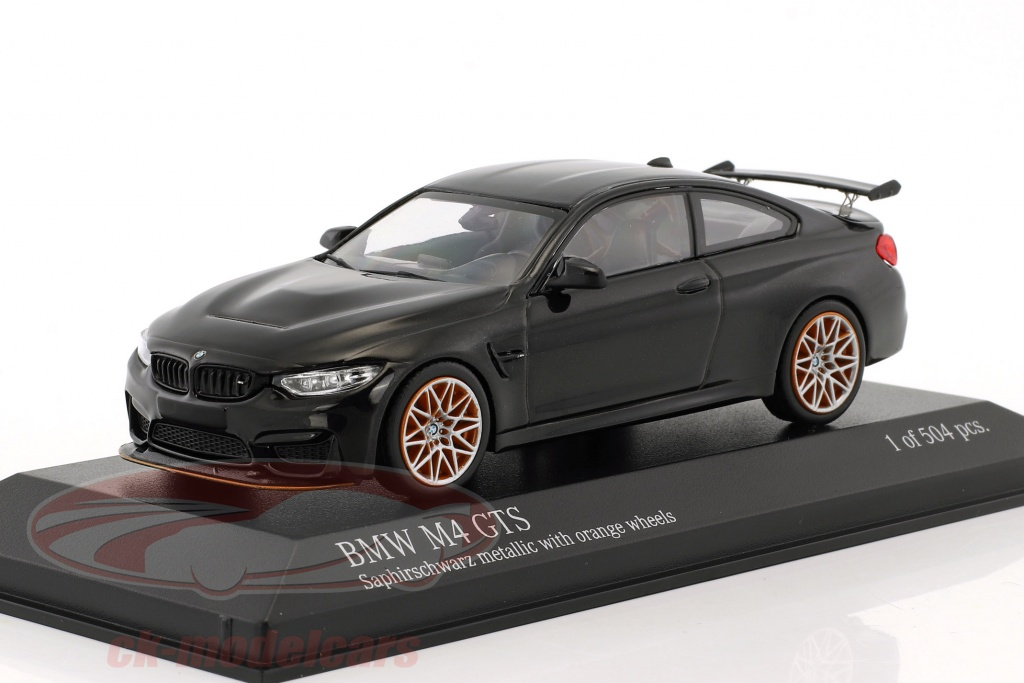 minichamps-1-43-bmw-m4-gts-year-2016-sapphire-black-metallic-with-orange-wheels-410025222/