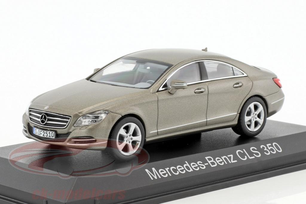 norev-1-43-mercedes-benz-cls-350-cgi-year-2010-gray-metallic-351300/