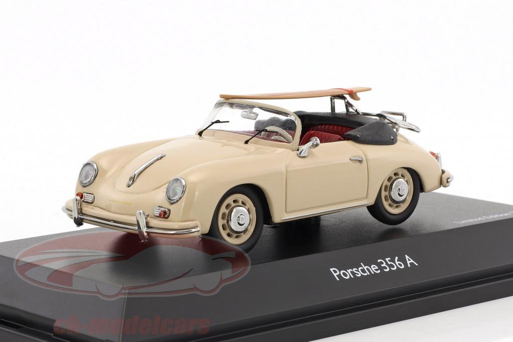 schuco-1-43-porsche-356-a-cabriolet-con-surf-edition-70-anni-porsche-beige-450256900/