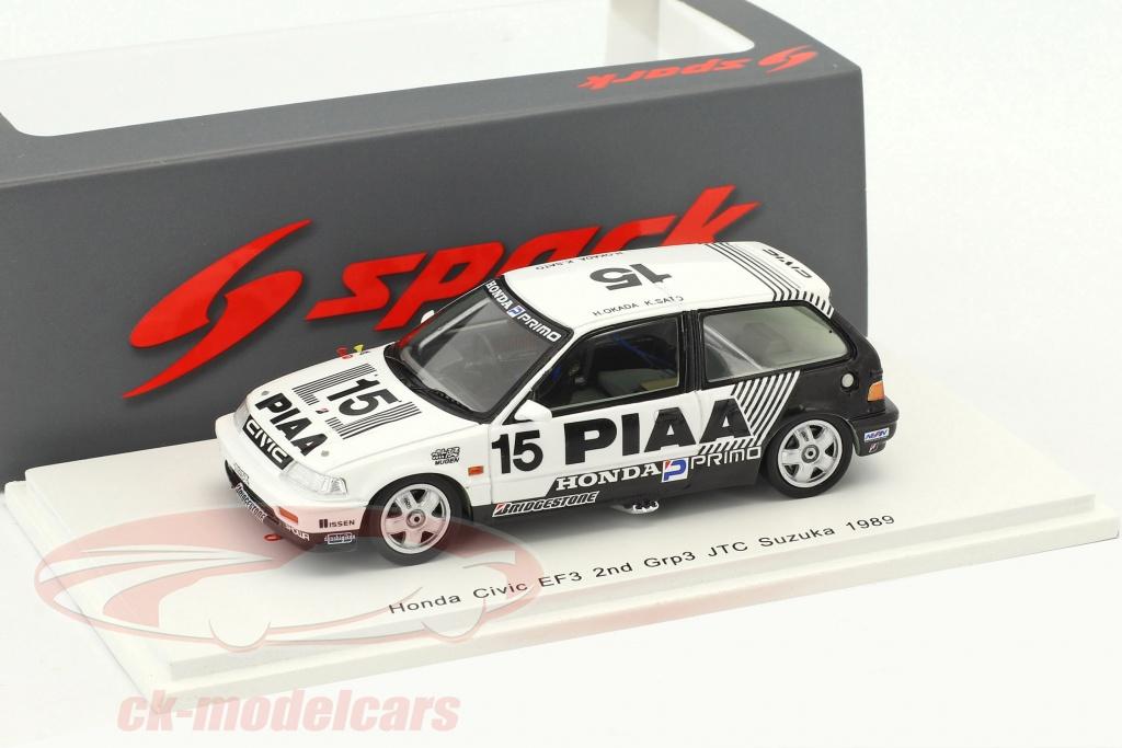 spark-1-43-honda-civic-ef3-no15-2nd-grp3-jtc-suzuka-1989-okada-sato-s5456/