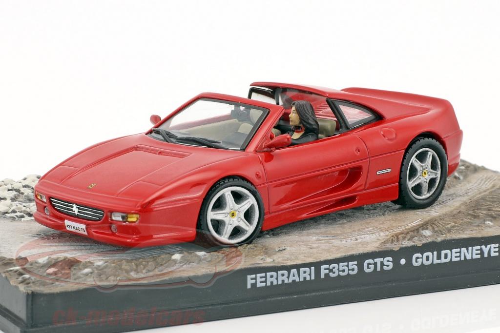 Ixo 1 43 Ferrari F355 Gts James Bond Movie Car Goldeneye Rot Dy010 Modellauto Dy010