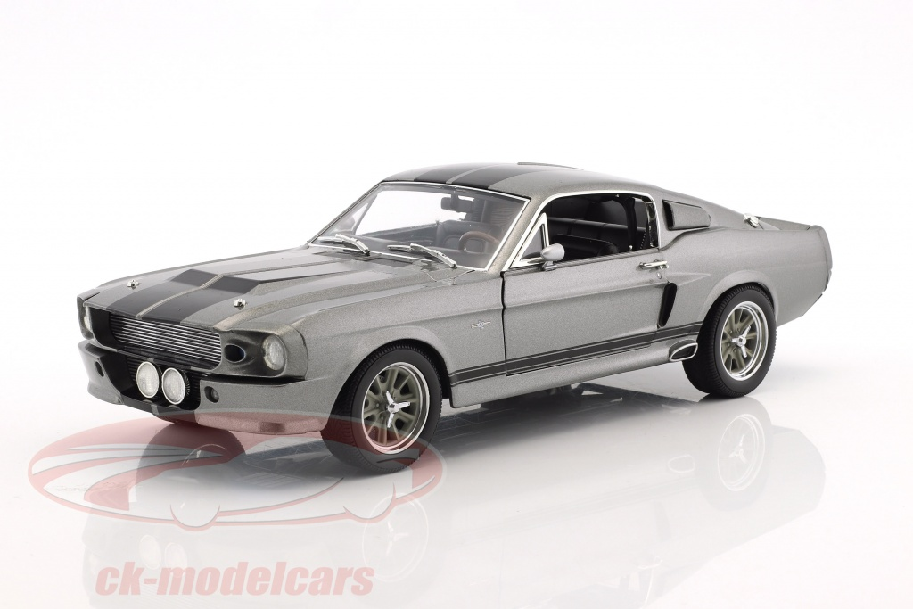 greenlight-1-18-ford-shelby-mustang-eleanor-ano-1967-gris-metalico-negro-12909/