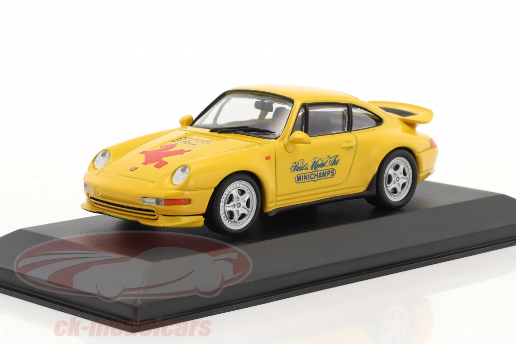 minichamps-1-43-porsche-911-993-rs-special-edition-toy-fair-nuremberg-1998-yellow-ck44043/