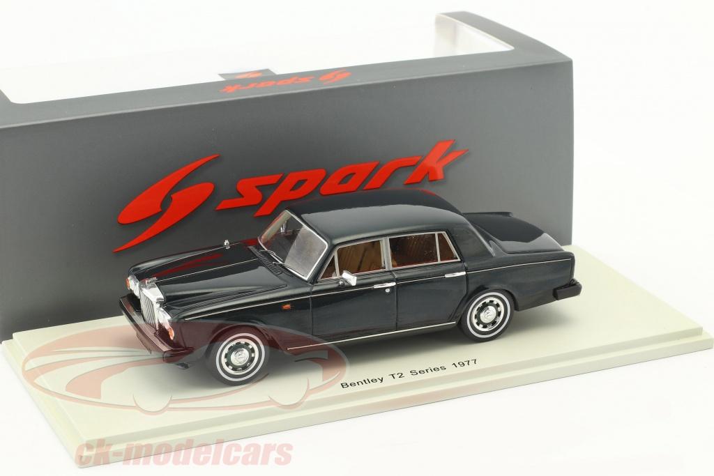 spark-1-43-bentley-t2-series-annee-de-construction-1977-vert-fonce-s3823/