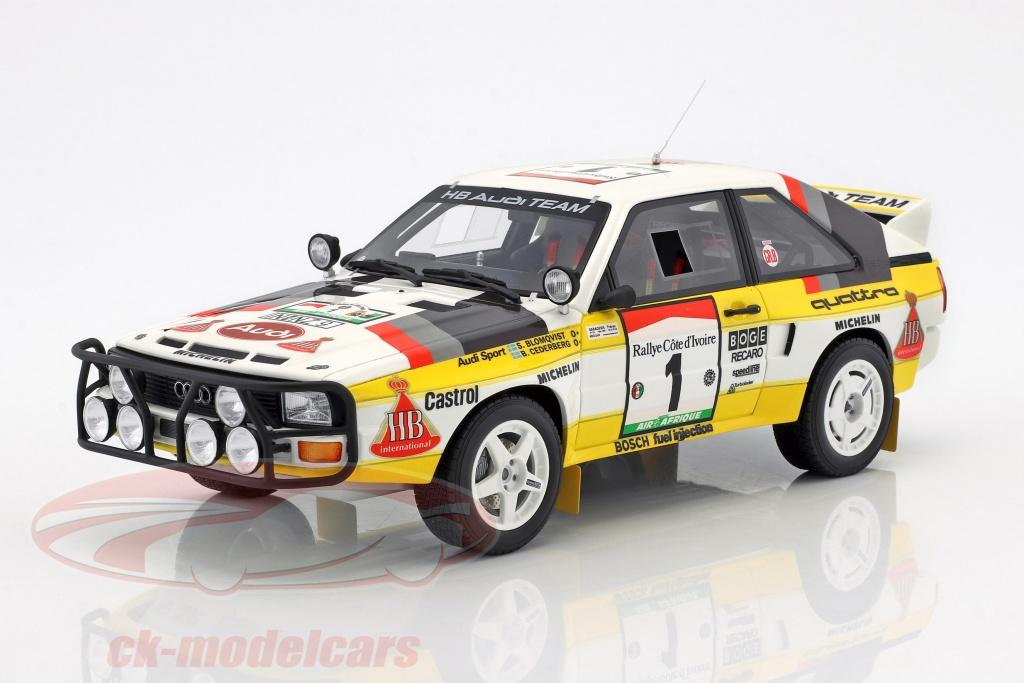 ottomobile-1-18-audi-quattro-sport-gr-b-no1-winner-rallye-ivory-coast-1984-blomqvist-cederberg-ot253/