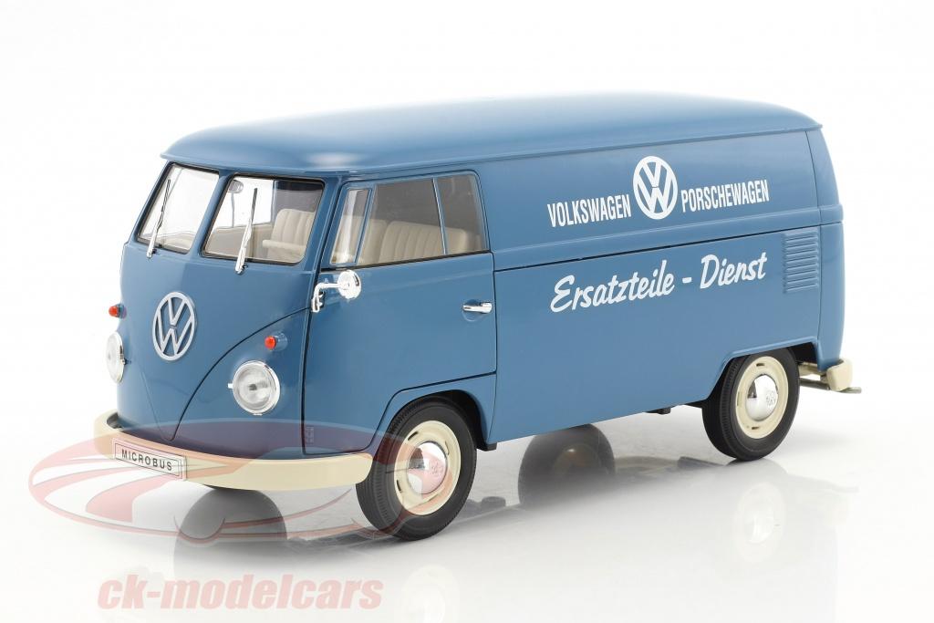 welly-1-18-volkswagen-vw-t1-bus-service-de-pieces-de-rechange-annee-de-construction-1963-bleu-blanc-18053/