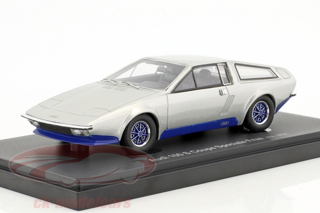 autocult-1-43-audi-100-s-coupe-speciale-frua-anno-di-costruzione-1974-argento-blu-60006/