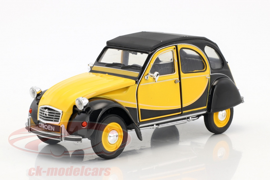 welly-1-24-citroen-2cv-6-charleston-construction-year-1982-yellow-black-24009ybk/