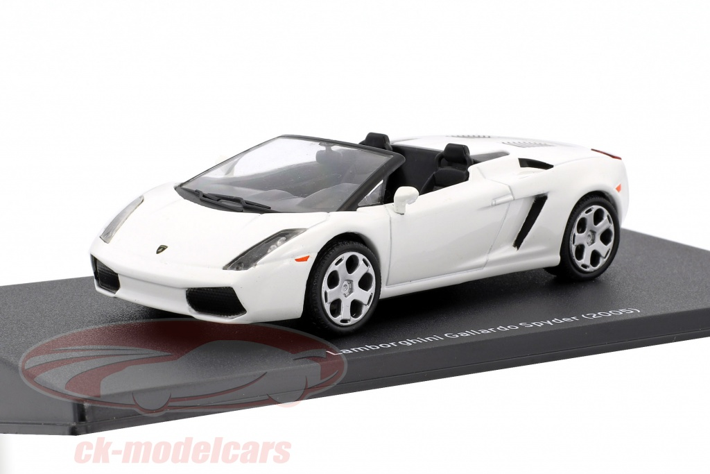 leo-models-1-43-lamborghini-gallardo-spyder-ano-de-construccion-2005-blanco-mag-jt08/