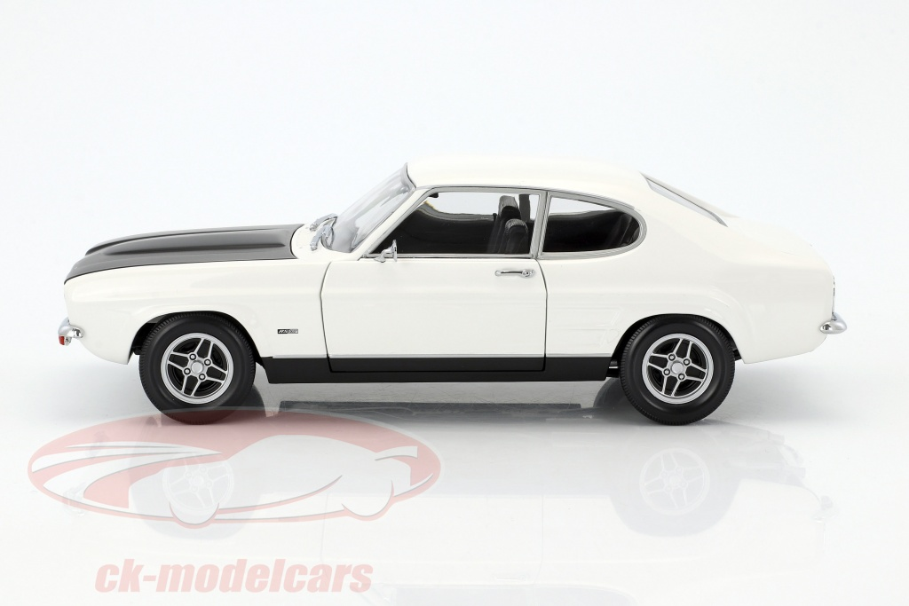 Orange Black 1970 Minichamps 1 18 Ford Capri Rs 2600 Lhd Tourenwagen Sportwagen
