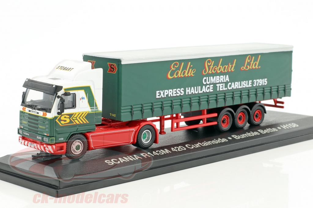 atlas-1-76-scania-r143m-420-curtainside-bumble-bette-h158-stobart-verde-bianco-mag-jv9137-4649137/