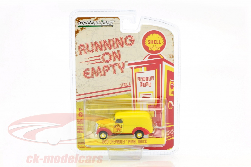 greenlight-1-64-chevrolet-panel-truck-year-1939-yellow-red-41040-a/