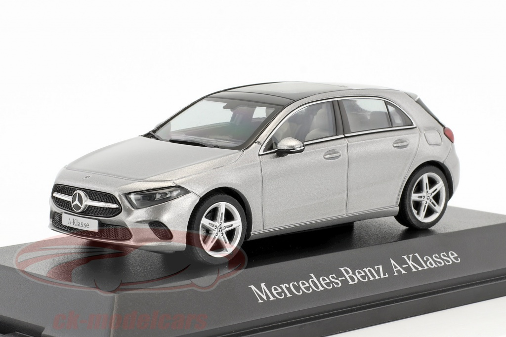 herpa-1-43-mercedes-benz-a-class-w177-mojave-silver-metallic-b66960427/
