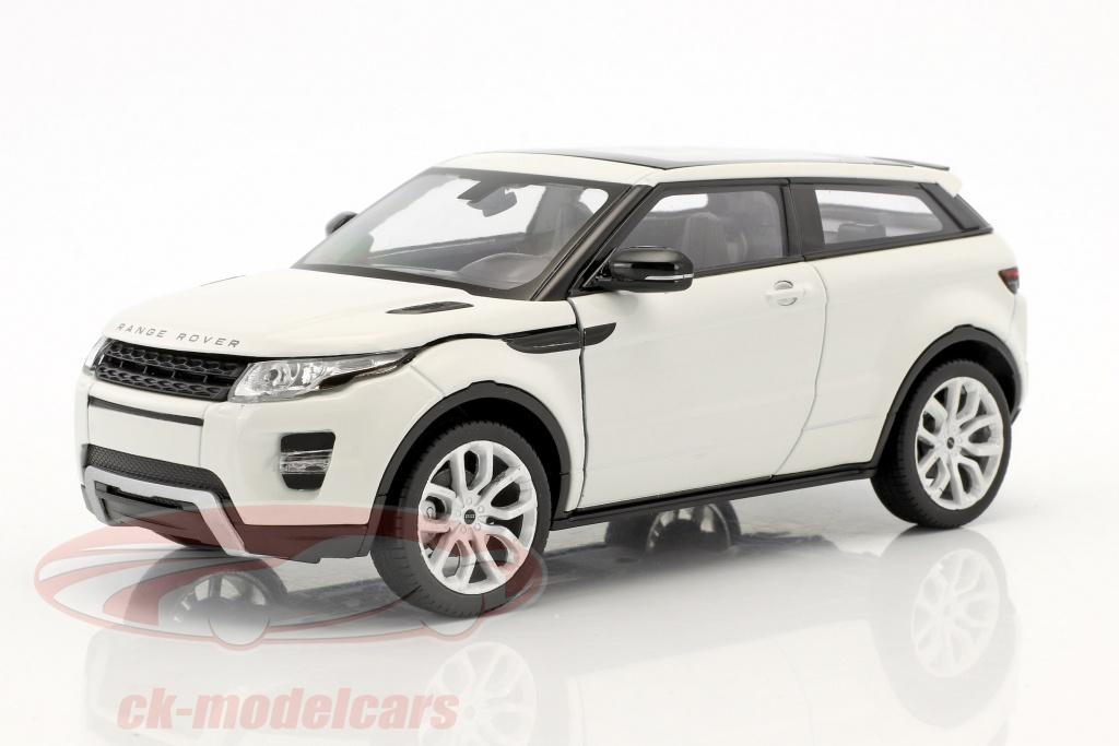 Land Rover Range Rover Evoque 2011 weiß Modellauto 1:24 Welly