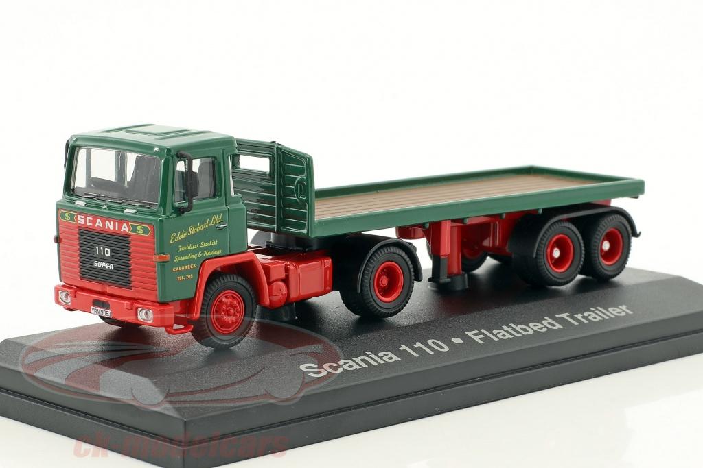 atlas-1-76-scania-110-flatbed-trailer-stobart-verde-rosso-mag-jv9109-4649109/