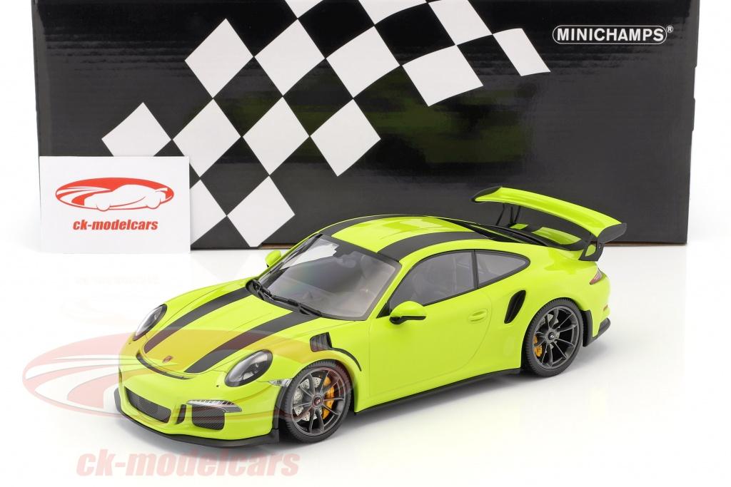 Minichamps 1:18 Porsche 911 (991) GT3 RS year 2015 light green with