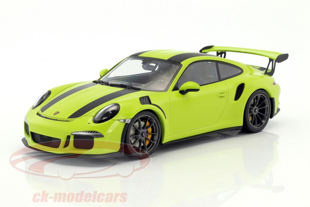 Minichamps 1:18 Porsche 911 (991) GT3 RS year 2015 light
