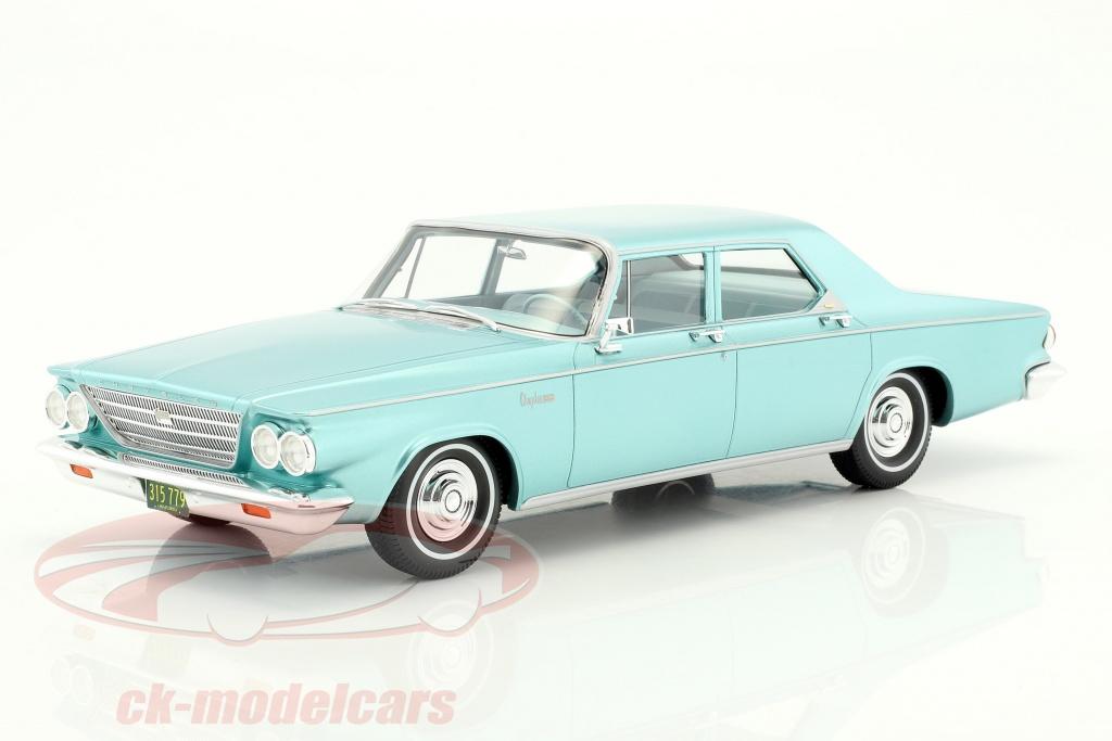 bos-models-1-18-chrysler-newport-4-door-sedan-year-1963-bright-green-metallic-bos315/