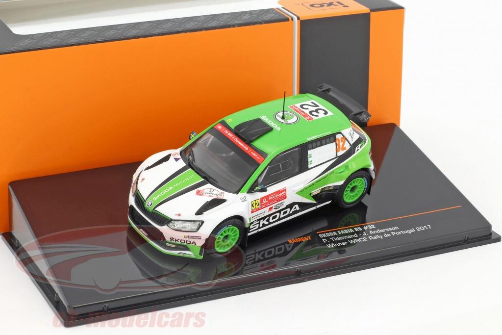 ixo-1-43-skoda-fabia-r5-no32-class-winner-rallye-portugal-2017-tidemand-andersson-ram657/