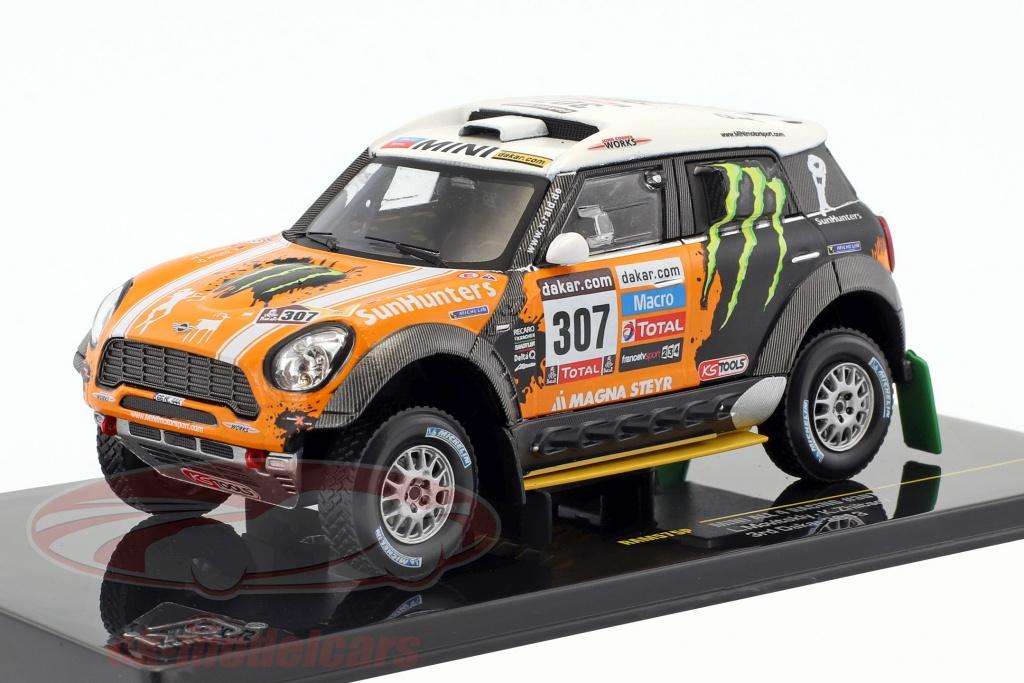 ixo-1-43-mini-all4-racing-no307-3rd-rallye-dakar-2013-novitsky-zhiltsov-ram575p/