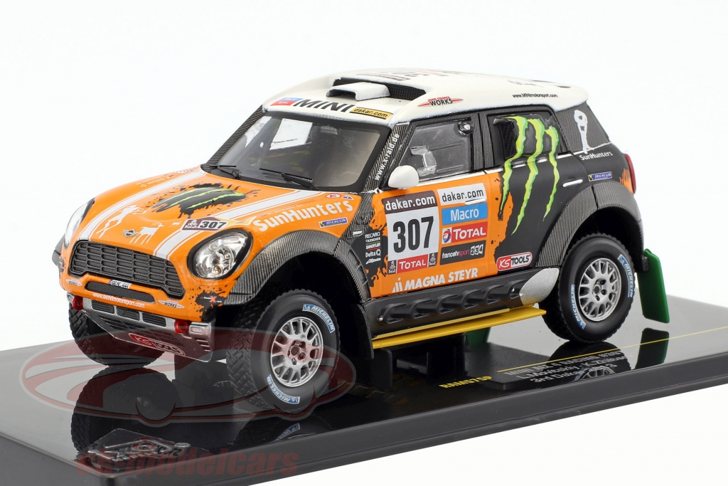 ixo-1-43-mini-all4-racing-no307-tercero-rallye-dakar-2013-novitsky-zhiltsov-ram575p/