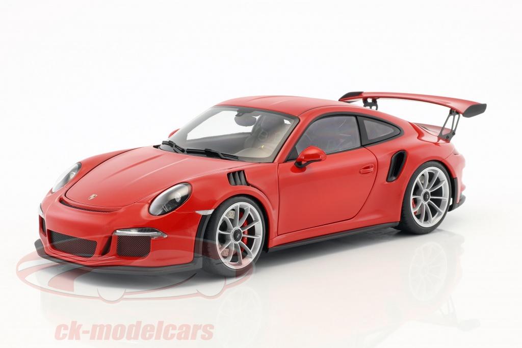 autoart-1-18-porsche-911-991-gt3-rs-ano-de-construccion-2016-rojo-con-plata-ruedas-78165/