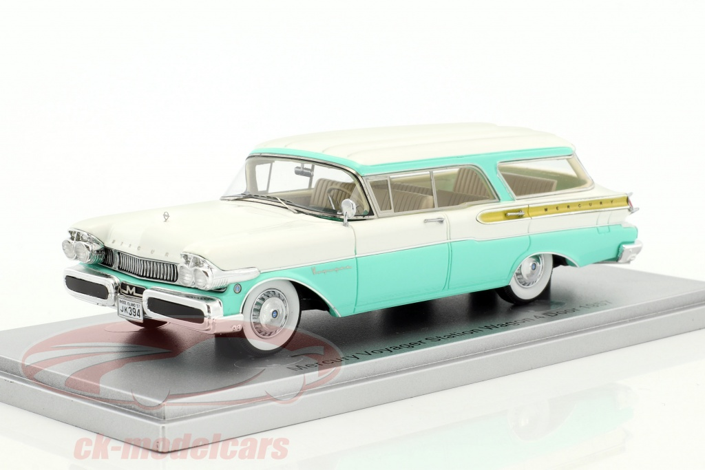 kess-1-43-mercury-voyager-station-wagon-4-door-year-1957-white-turquoise-43021021/