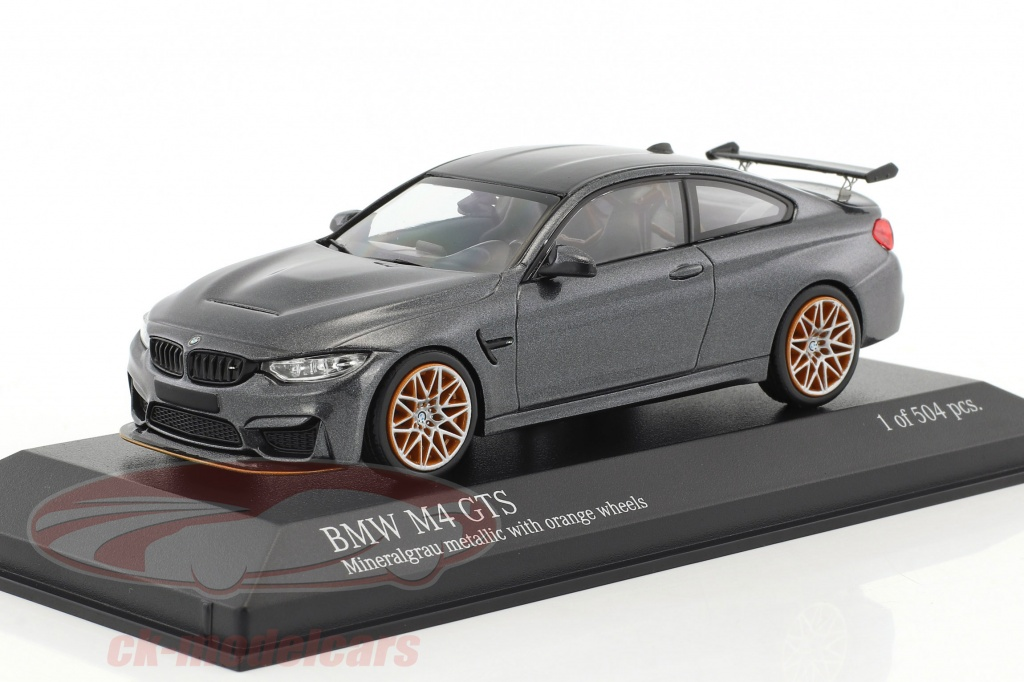 minichamps-1-43-bmw-m4-gts-year-2016-gray-metallic-with-orange-wheels-410025228/