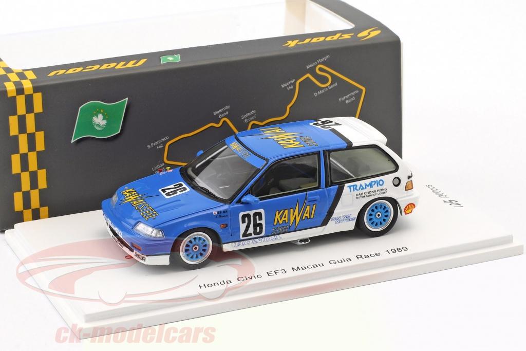 spark-1-43-honda-civic-ef3-no26-macau-guia-race-1989-kazuo-shimizu-sa130/