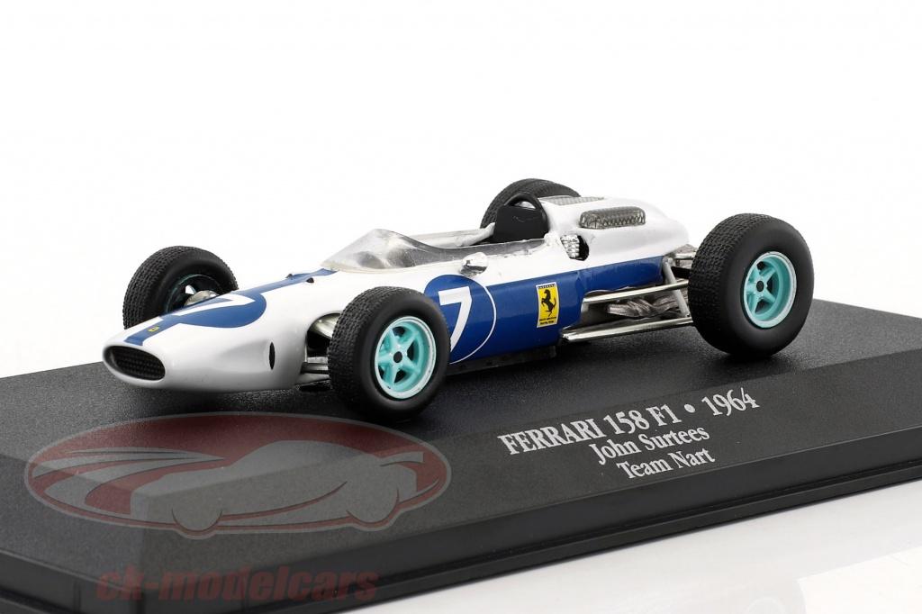 atlas-1-43-john-surtees-ferrari-158-no7-world-champion-formula-1-1964-mag-jh08-7174008/
