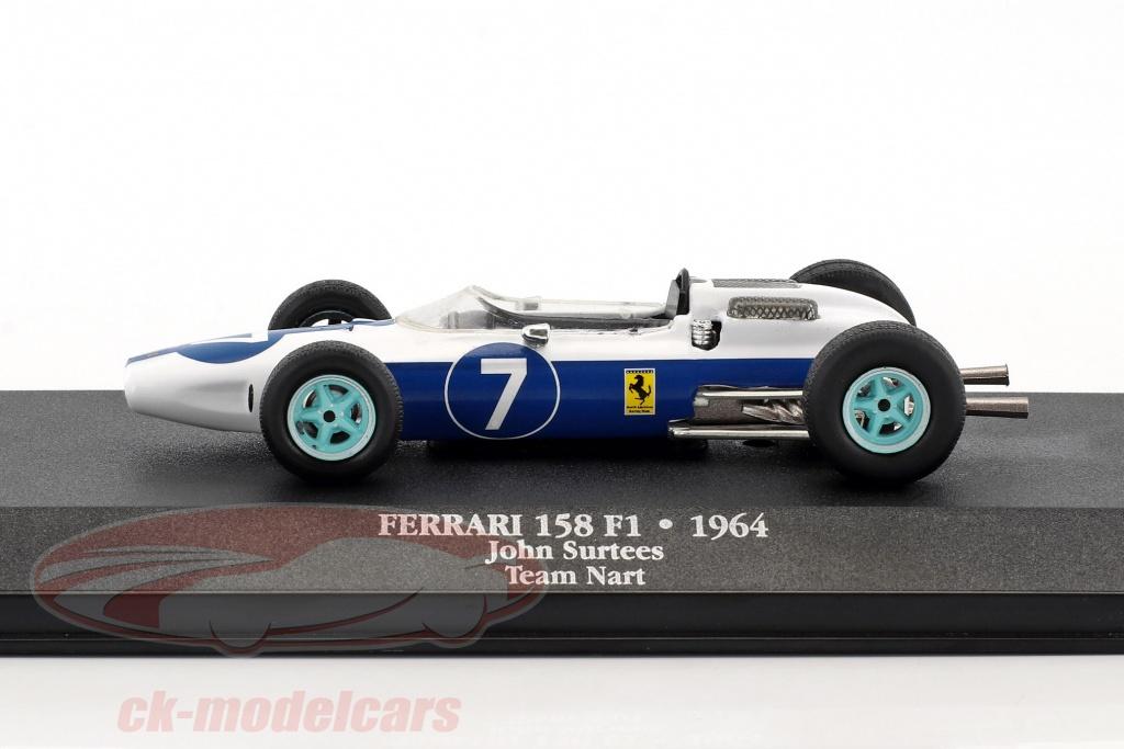 Atlas 1 43 John Surtees Ferrari 158  7 Verdensmester