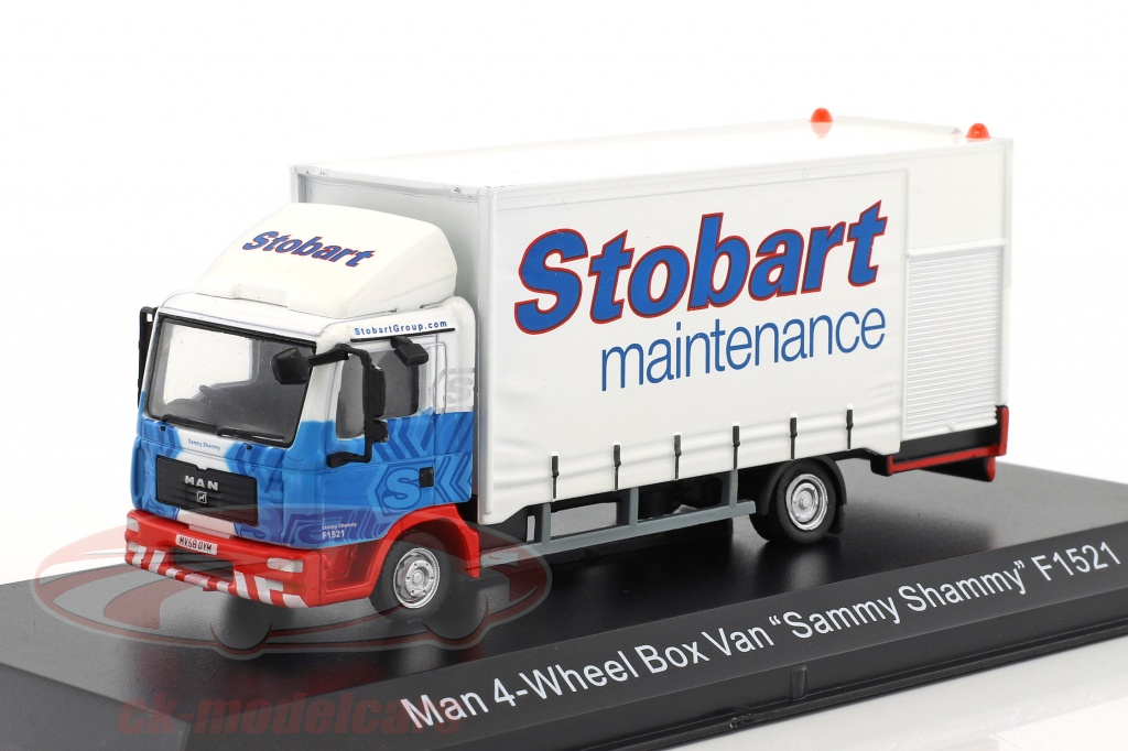 atlas-1-76-man-4-wheel-box-van-sammy-shammy-f1521-stobart-bianco-blu-mag-jv4108-4664108/
