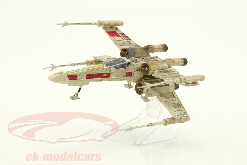 hotwheels-elite-x-wing-starfighter-red-five-star-wars-episodio-iv-a-new-hope-1977-argento-rosso-cmc91/
