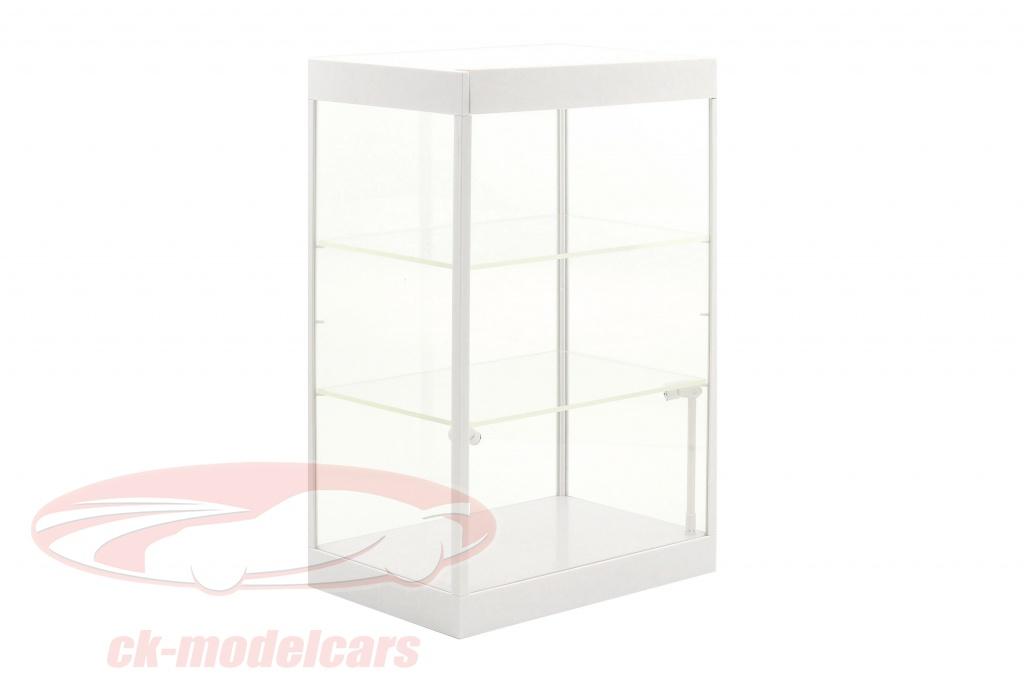 enkelt-skab-med-2-mobil-led-lamper-til-modelbiler-i-skala-1-181-241-43-hvid-triple9-t9-69927w/