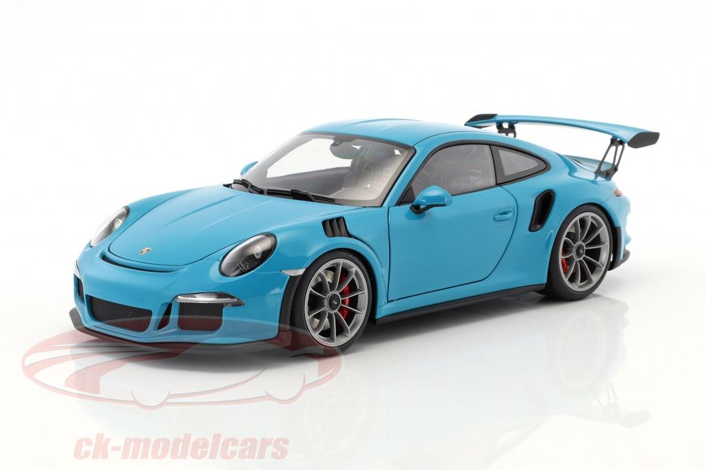 autoart-1-18-porsche-911-991-gt3-rs-year-2016-miami-blue-with-dark-gray-wheels-78167/