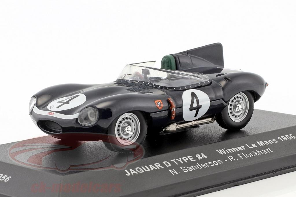ixo-1-43-jaguar-d-type-no4-gagnant-24h-lemans-1956-sanderson-flockhart-lm1956/