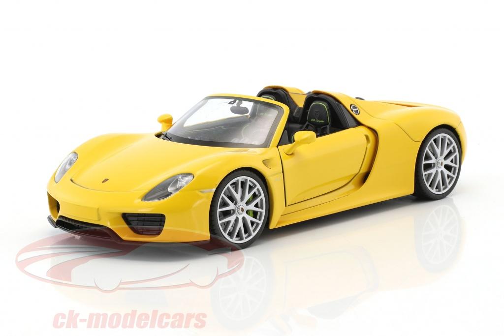 welly-1-24-porsche-918-spyder-courses-jaune-map02484516/