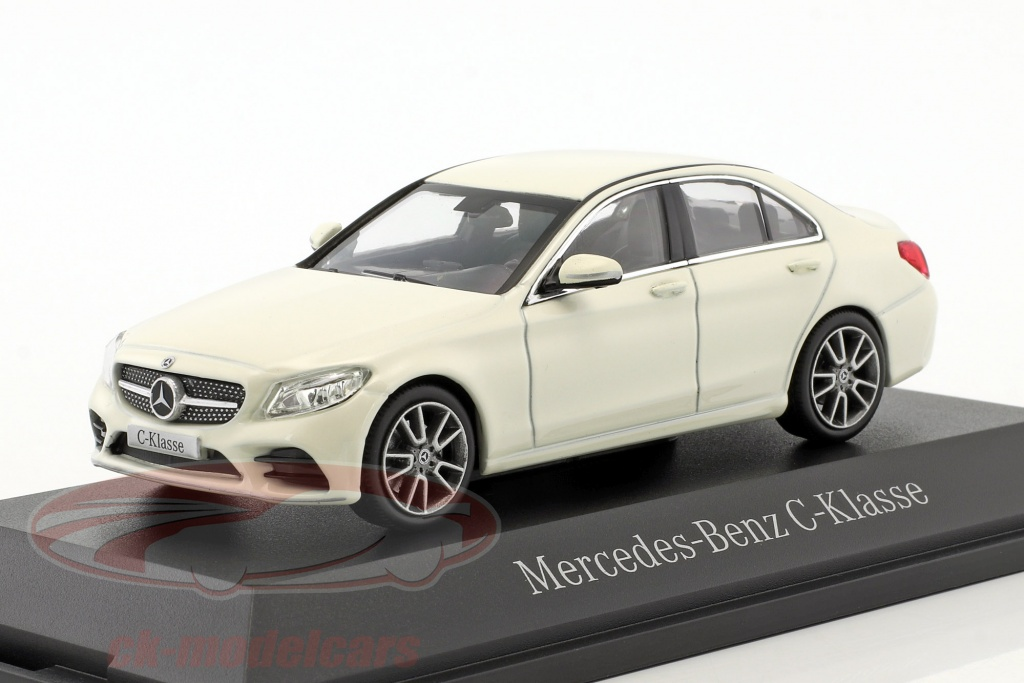 norev-1-43-mercedes-benz-c-class-mopf-w205-designo-diamond-white-b66960447/