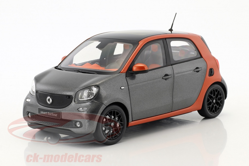 norev-1-18-smart-forfour-coupe-w453-naranja-gris-b66960298/