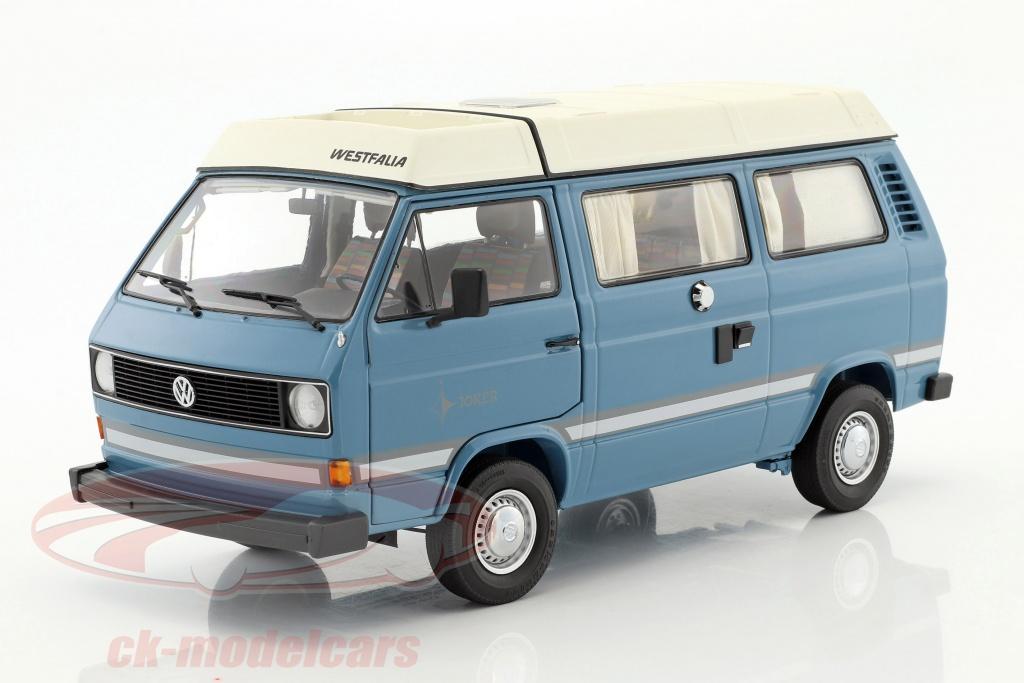 schuco-1-18-volkswagen-vw-t3a-joker-camper-with-folding-roof-medium-blue-white-450038700/