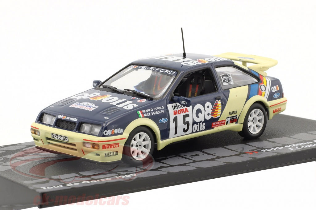 altaya-1-43-ford-sierra-rs-cosworth-no15-7-tour-de-corse-1989-cunico-sghedoni-mag-kd082/