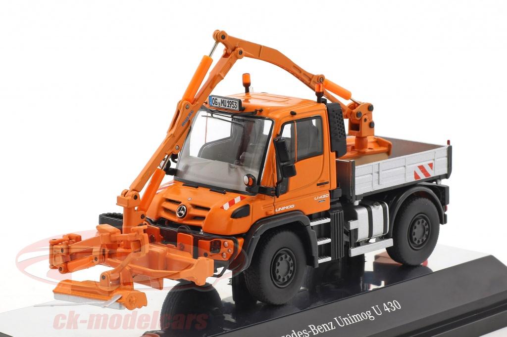nzg-1-50-mercedes-benz-unimog-u-400-mulag-mkm-700-con-falciatore-arancione-9101/